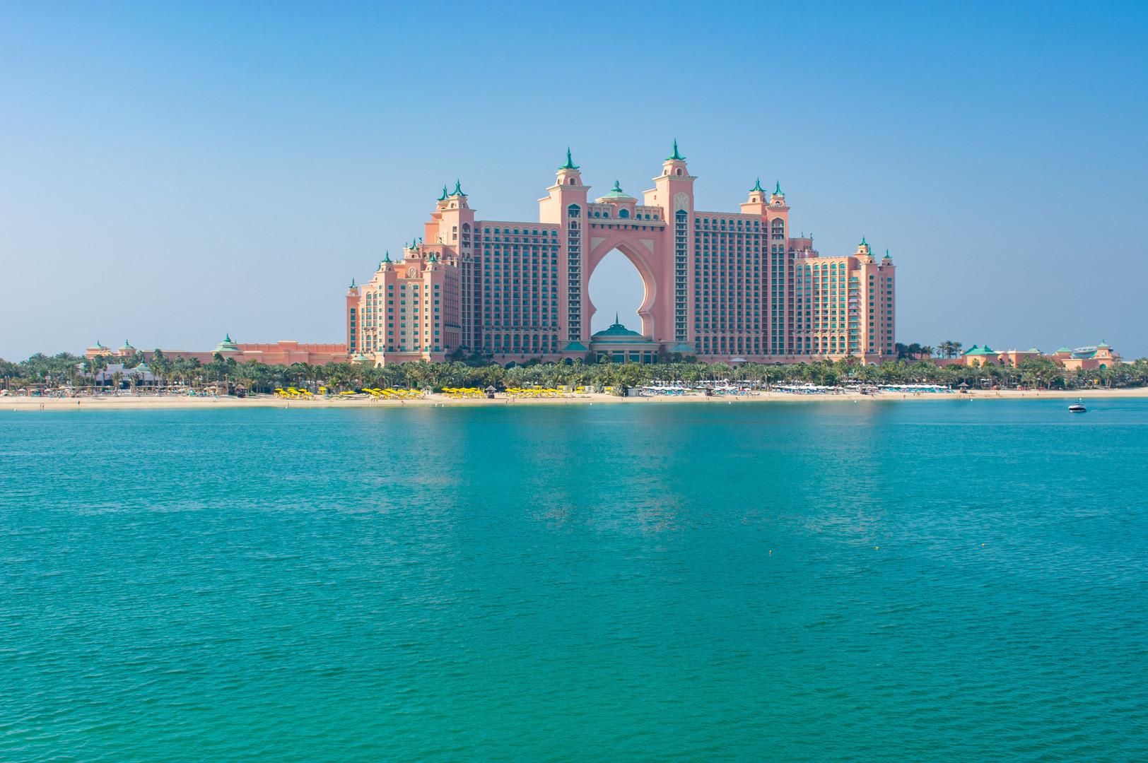 Отель на Пальмовых островах Atlantis The