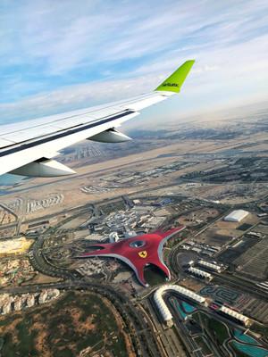парк развлечений Ferrari World Абу-Даби.