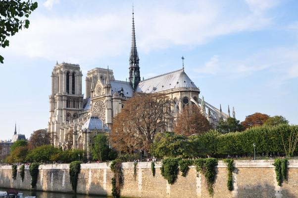 Собор Парижской Богоматери или Нотр-дам-