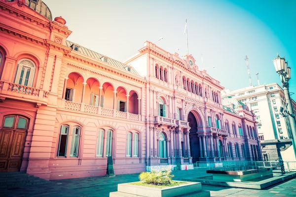 Правительственное здание Каса-Росада или