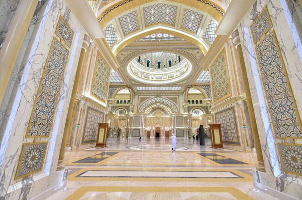Дворец Qasr Al Watan Абу-Даби – часть пр