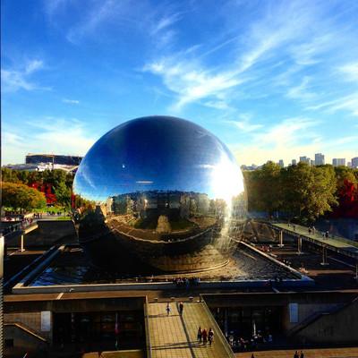 Музей науки и индустрии Ла Виллет Париж.