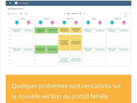 Conseil Municipal - Question n°2 de Montgeron en Commun : Le Portail Famille
