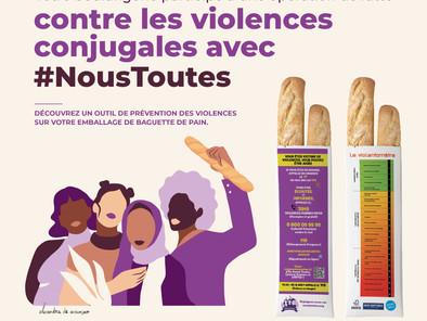Distribution de sacs à pain violentobaguettes