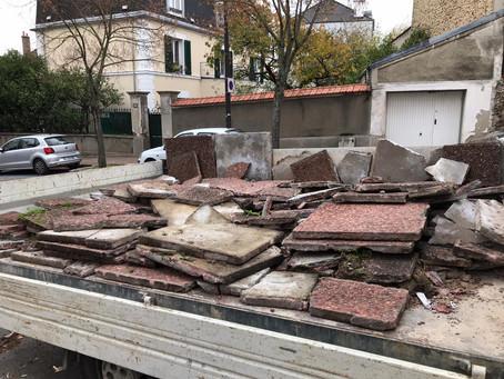 Conseil Municipal - Question n°3 de Montgeron en Commun : Les dalles de la Saussaie