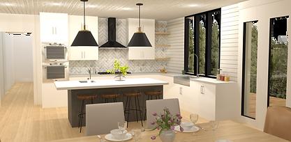 LDI Studio - Kitchen Rendering