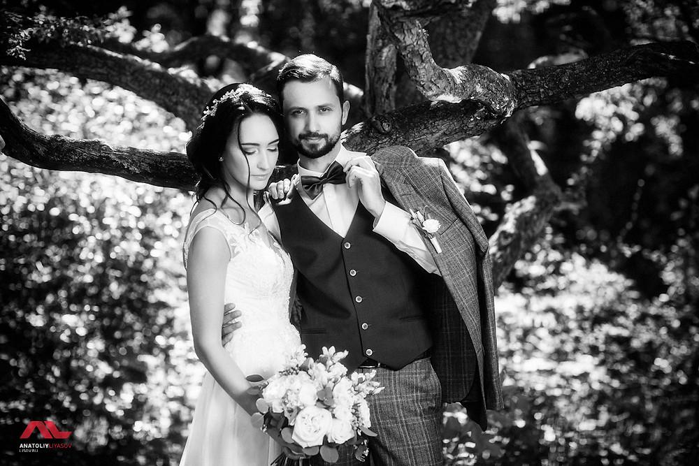 Классический стиль свадебной фотографии