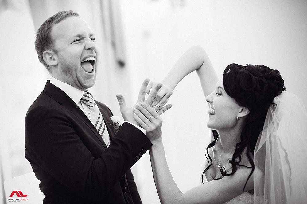 Репортажный стиль свадебной фотографии