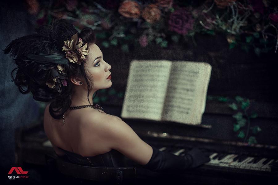 Фотосессия в стиле рококо