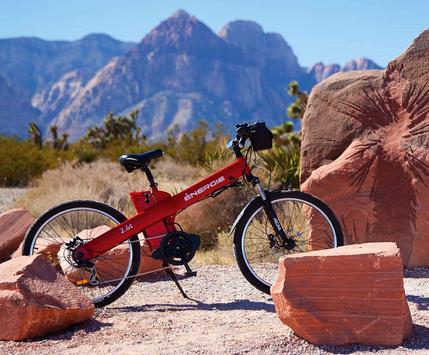 Red E Bike