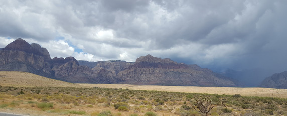 Storms brewing in Red Rock Canyon