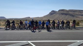Orientation at Red Rock Canyon #redebike