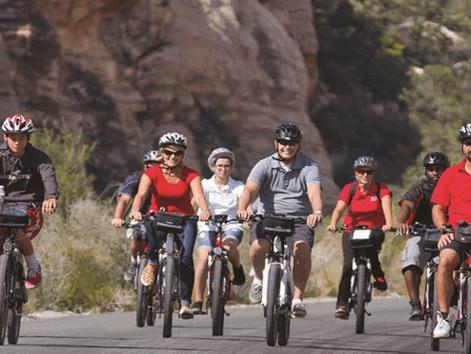Las Vegas Kids and Red E Bike