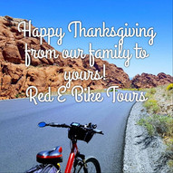 We at Red E Bike Tours are so very thankful for you! Much love from John,  Allison, Cody, Rachelle, Chase and Cierra #fromourfamilytoyours #