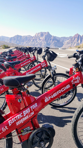 Electric bike tour Red Rock Canyon #redebike