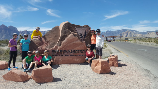 Happy Red Rock Canyon customers