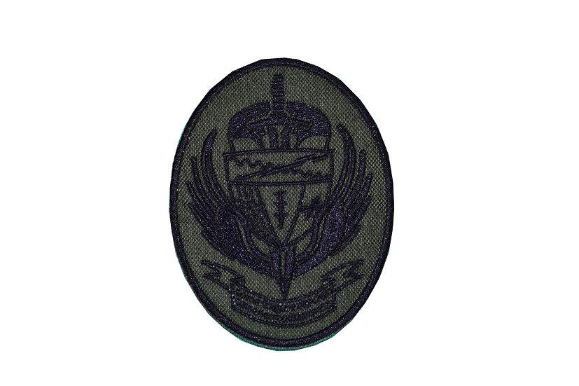 Patch stemma militare