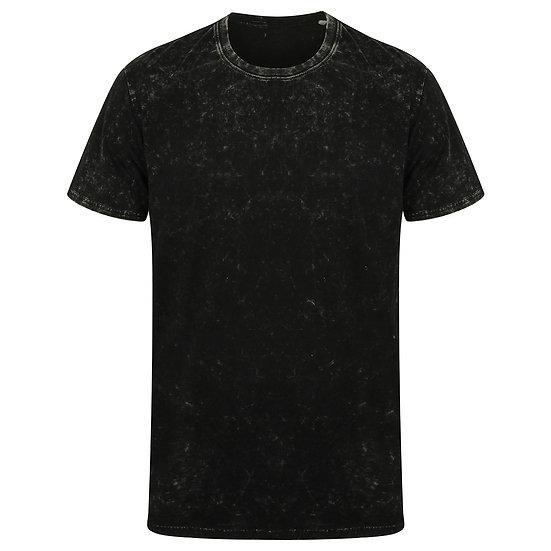 Unisex Washed Band T-shirt