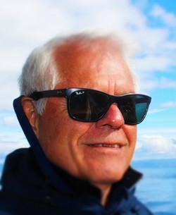 Graham enjoying to trip to Bruny Island Tasmania