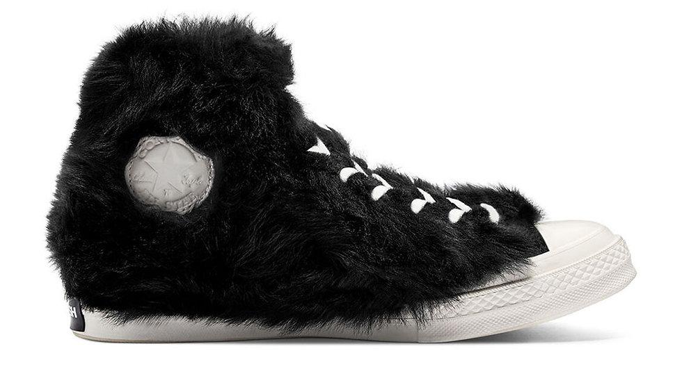 Converse x Ambush Chuck Taylor All-Star 70s Hi Furry Black
