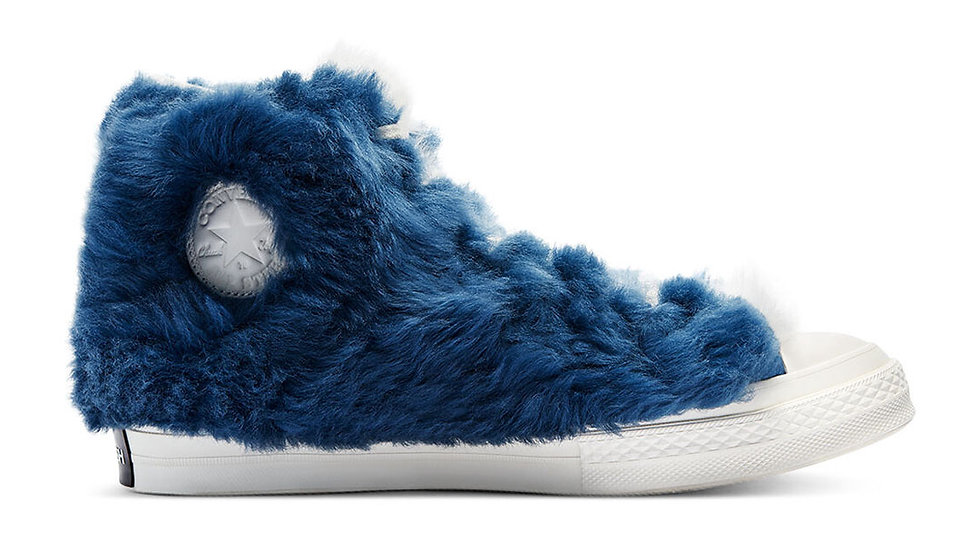 Converse x Ambush Chuck Taylor All-Star 70s Hi Furry Blue