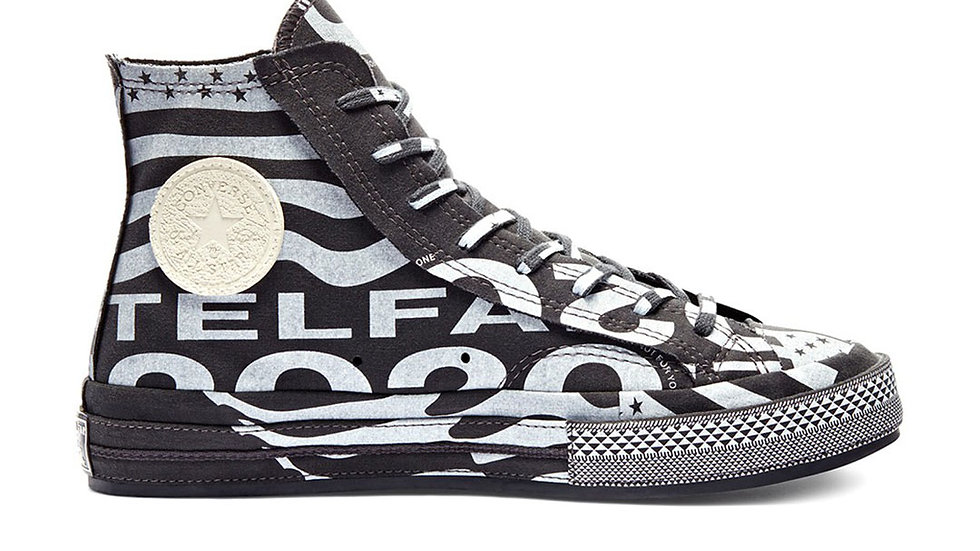 Converse Chuck Taylor All-Star 70s Hi Telfar Black White