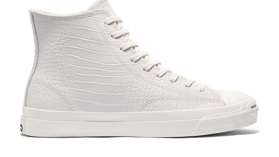 Converse x Pop Trading Company Jack Purcell Dragonskin Egret