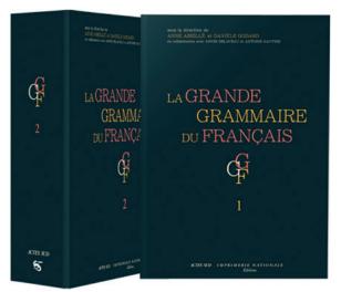 """Publication of the """"Grande Grammaire du Français"""""""