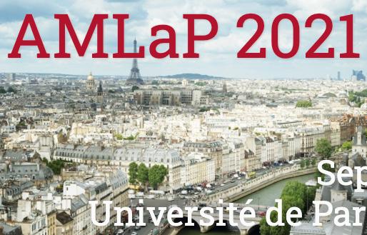 Conférence AMLaP du 2 au 4 septembre