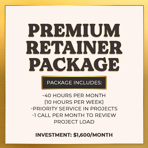 Premium Retainer Package
