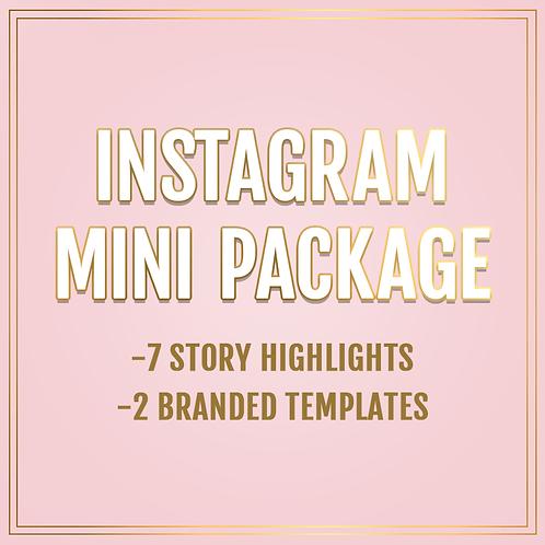 Instagram mini package