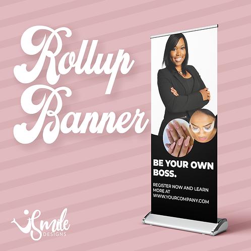 Custom Rollup Retractable Banner Design
