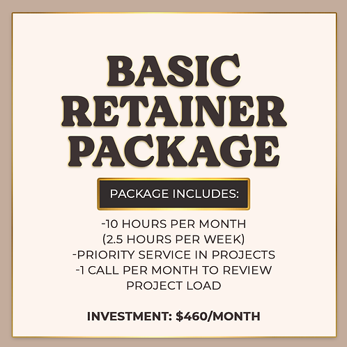 Basic Retainer Package