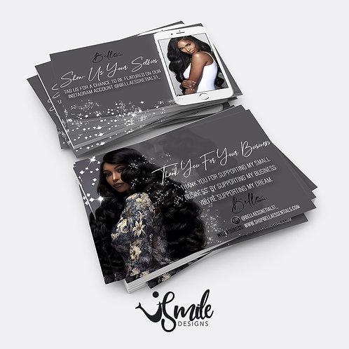 Thank You Cards (Design + Print)