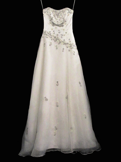 Classic Embroidered Dress (#1743-1)