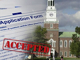 get accepted to college