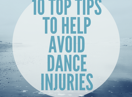 10 Top Tips to help avoid dance injuries