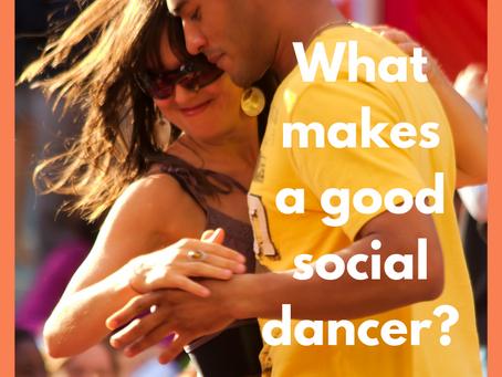 What makes a good social dancer?