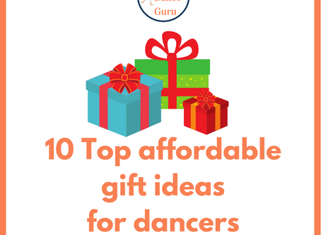 10 Top affordable gift ideas for dancers