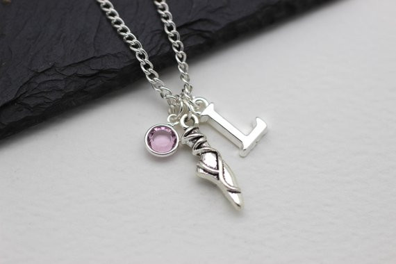 Personalised Ballet Necklace