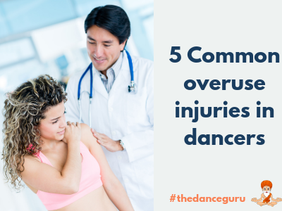 5 common types of overuse injuries in dancers