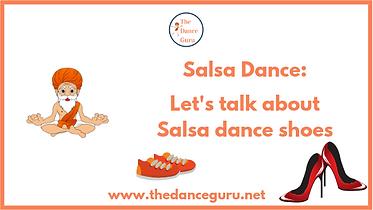Salsa Dance, Let's talk about Salsa danc