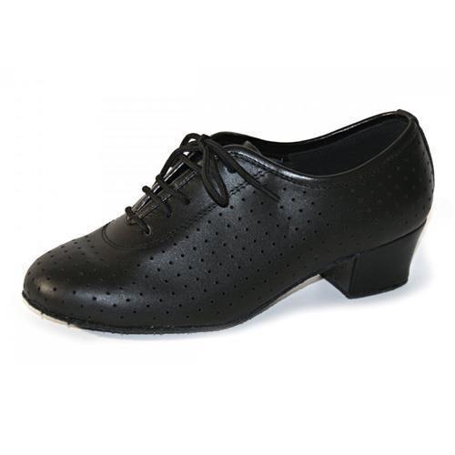 Black ballroom and latin practice shoe