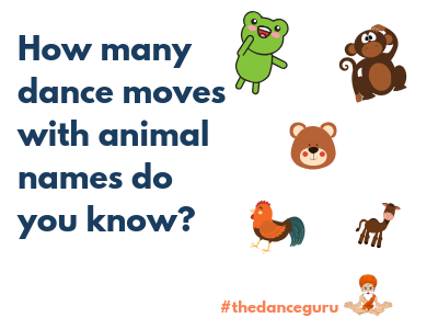How many dance moves with animal names do you know?