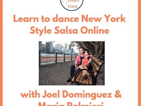 Learn to dance New York Style Salsa with Joel Dominguez & Maria Palmieri