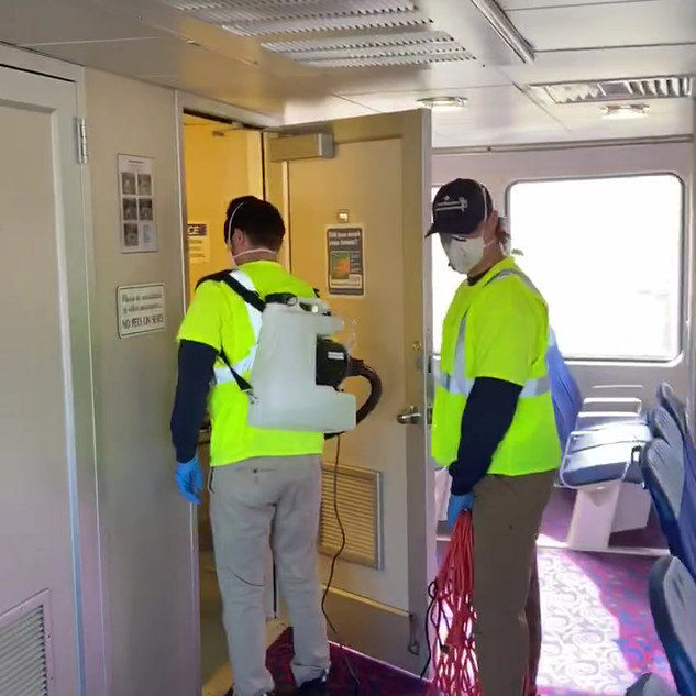 Ferry Disinfection