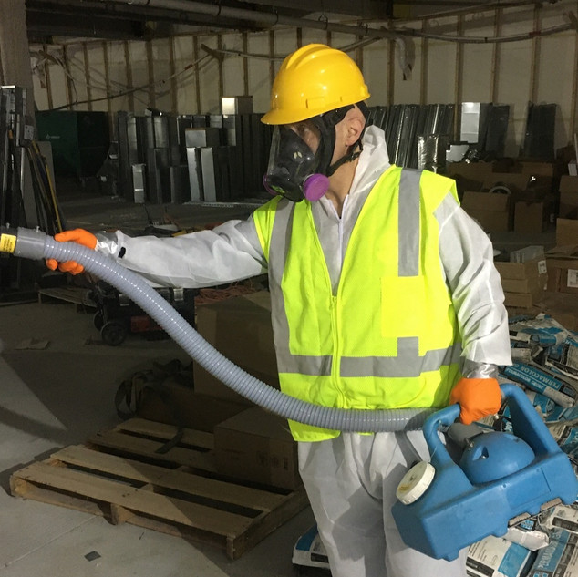 Construction Site Disinfection