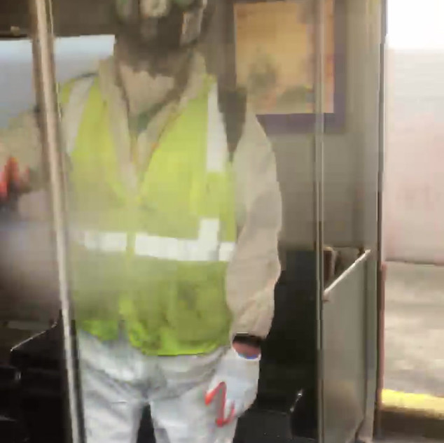 MBTA Disinfection