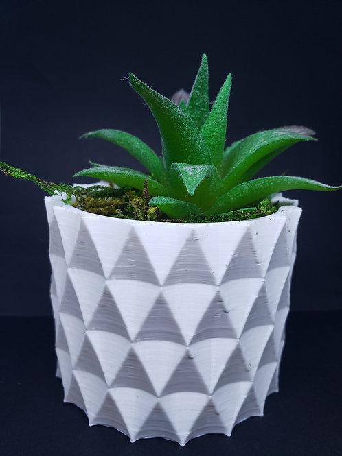 Plant pot Diamond style