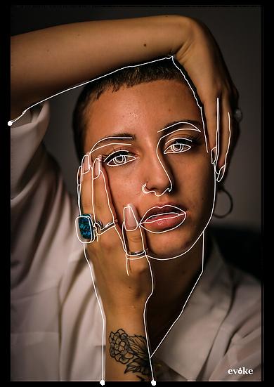 Outline Singular Portrait